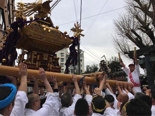 湯島天神 梅まつり,2019.2.24,神輿渡御, 2020年は開催中止