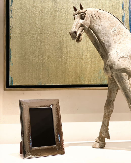 "Koenig® Chalet Style ""Silver Frame"" - 100% swiss handmade"
