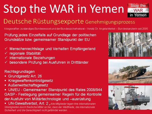 Genehmigungsprozess deutscher Rüstungsexporte und Rechtsgrundlagen, von Artikel 26 GG bis UN-Gewaltverbot Art. 2