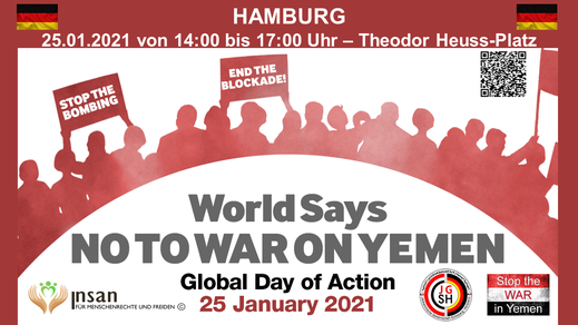 Global Day of Action - World Says NO TO WAR ON YEMEN