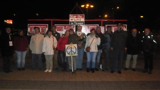 Cottbus - 22.10.2018 - Mahnwache für den Frieden auf Facebook