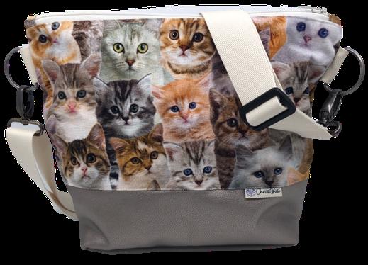 Tasche für Katzenliebhaber