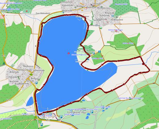 GPX-Track 6 km Kleiner Wäller Wiesensee