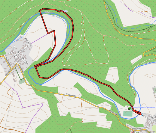 GPX-Track 4,5 km An der Nister entlang von Astert nach Heuzert