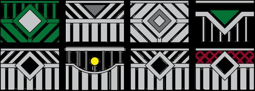 Zierelementvarianten