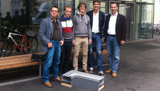 Zusammenarbeit mit jungen Technikern der TU-Graz hat Aura im Bereich Materialforschung viele Schritte weitergebracht.