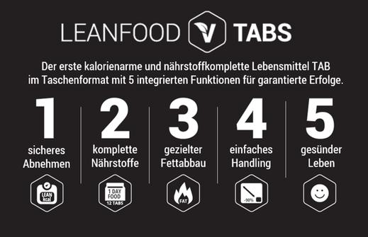 LeanFood Tabs