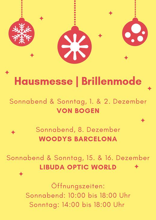 Hausmesse & Brillenmode zum Spremberger Lichterfest 2018