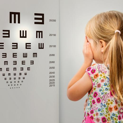 Augenuntersuchung und Sehtest für Kinder