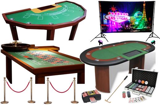 Casino Tische mieten - Motto Casino Royale mit roulettettsich.ch