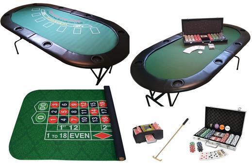 Casino Spiele mieten Budget Set- Motto Casino Royale