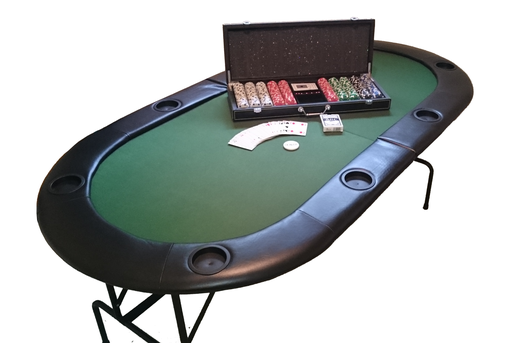 Poker Tisch mieten Budget Set - roulettetisch.ch