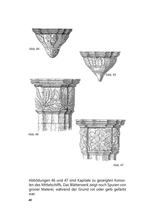 Kloster Chorin Zeichnungen Zisterzienser 19. Jahrhundert