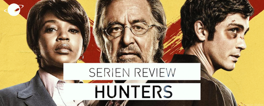 serien review amazon prime hunters