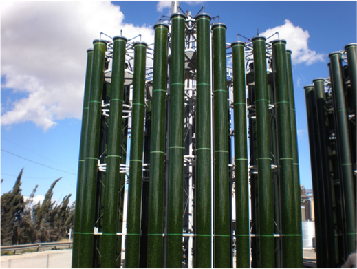Acryl-Rohre für Bioreaktoren
