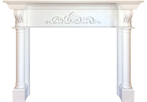 The Custom Glenayre Fireplace Mantel