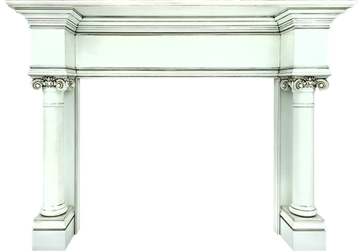 The Custom Canonbury Fireplace Mantel