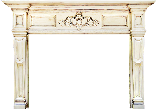 The Custom Carlisle Fireplace Mantel