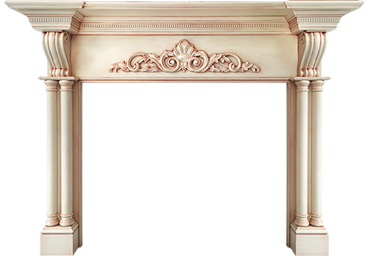 The Custom Arlington Fireplace Mantle