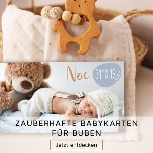 Buben Geburt Karten Babykarten