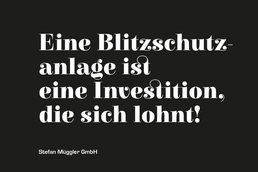 Blitzschutz Spenglerei St.Gallen Stefan Müggler GmbH