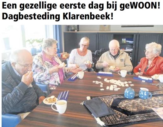 geWOON! dagbesteding Klarenbeek