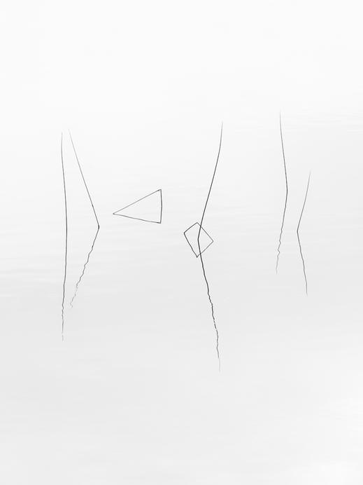Minimalismus, Fotografie, Spiegelung, See, photography, moderne, Fotokunst, minimalism, minimalist, minimalistisch, Holger Nimtz, Kunst, fine art, Uckermark,