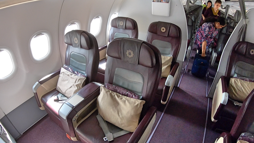 Air Vistara 320 Business Class