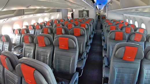 Norwegian Air 787 Economy Class