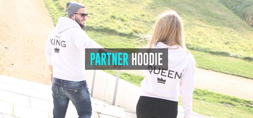 pärchen pullover hoodie partnerlook king queen mr mrs selbst gestalten