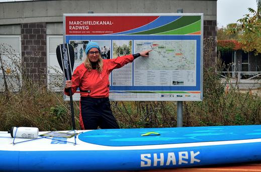 Rußbach Erstbefahrung mit dem SUP 35km