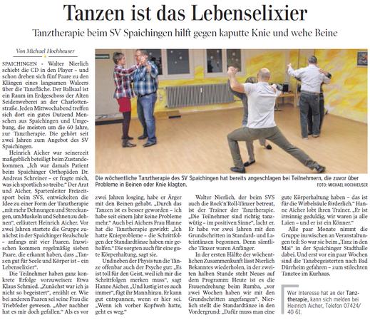 Schwäbische Zeitung, 15.03.2013