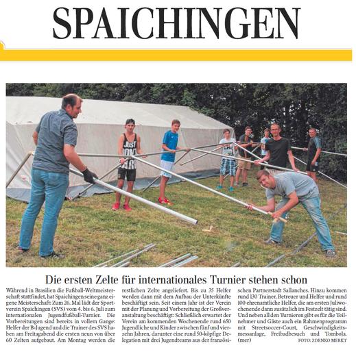 Schwäbische Zeitung, 28.06.22014