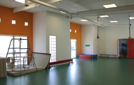 Salle de motricité Ecole Maupas Percy-en-Normandie