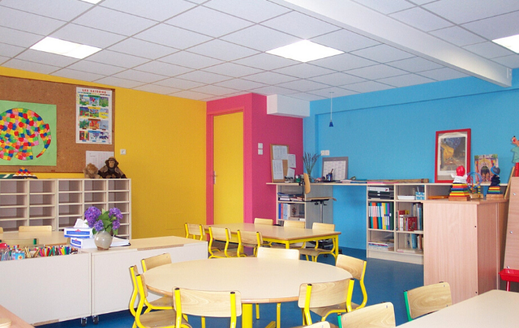 Salle de classe Ecole Maupas Percy-en-Normandie
