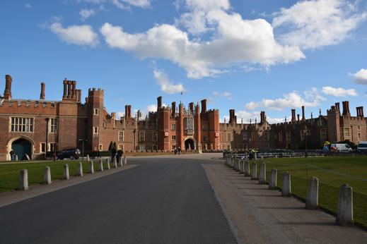 Hampton Court - Bild wurde fototechnisch bearbeitet