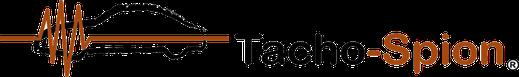 Das Logo des Tacho-Spion zeigt ein Auto und eine Ultraschalllinie. / Bildquelle: Tacho-Spion