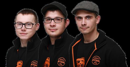 Werkstatt Team Jean-Philipp Wagner, Pascal Dittert, Nils Müller