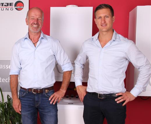 Portrait Geschäftsführung Lutz Kordes und Andre Wachendorf