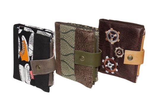 petit portefeuille compact homme tissu faux cuir original pratique plat porte-cartes porte-billetporte-monnaie fonctionnel