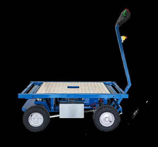 Elektrisch betriebener Transportwagen Ergomover  1500 kg Traglast