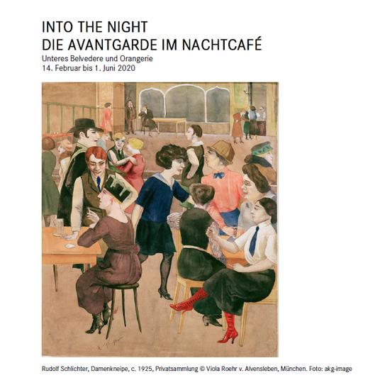 Into the Night - Ausstellung, Unteres Belvedere Wien; Kaberett Fledermaus, Neuzeughammer Keramik OG