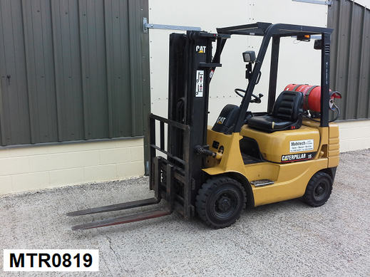 1.5ton Gas forklift hire in Kent
