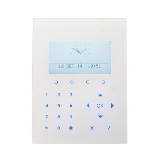 SPCK521.100 Kompakt LCD Smart Bedienteil mit Kartenleser