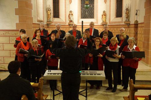 Adventskonzert in Wernborn 2014, Gesangverein Wernborn