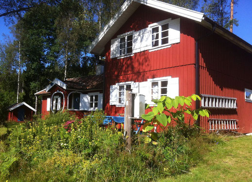 Ferienhaus in Schweden , am See, mit Boot, günstig, günstig