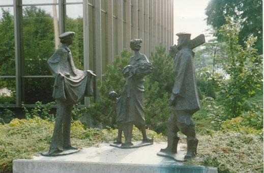 An der WGZ-Bank - 'Gespräch' 1983