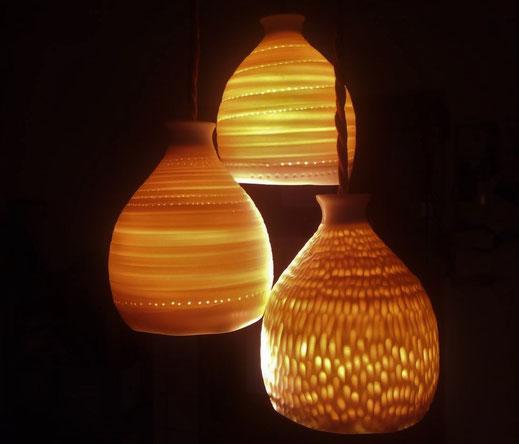 Porzellan-Lampenschirme