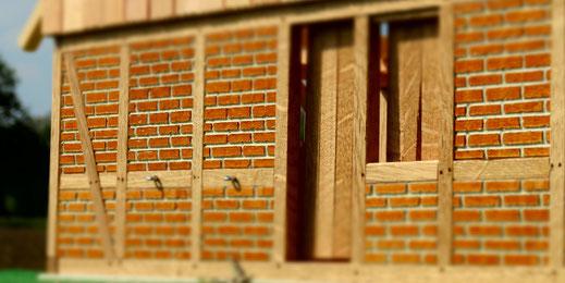 Pferdestall Tür für Schleich aus Holz