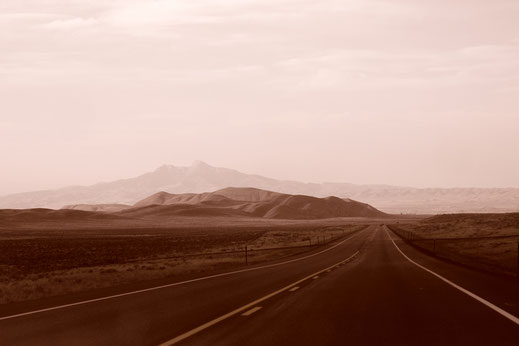 Travel, cultures, peace, US Highway